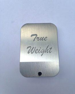 TRUE WEIGHT INC. Basepad Aluminum