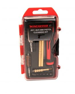 Winchester Pistol Compact Cleaning Kit for .38,9mm,.223,.45